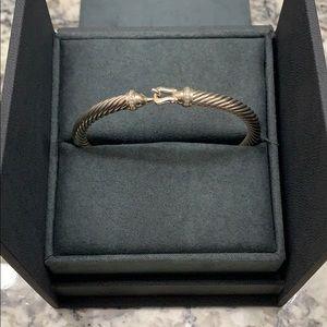 David Yurman Jewelry - David Yurman Cable Buckle Bracelet with Diamonds